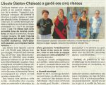 7 Septembre 2013 : école Gaston Chaissac